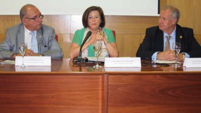 Sánchez Rubio, entre Rodríguez Sendín y Martínez Amo
