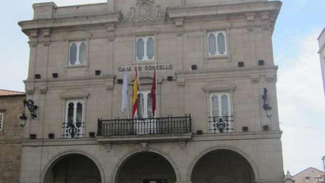 Fachada del Ayuntamiento de Ourense