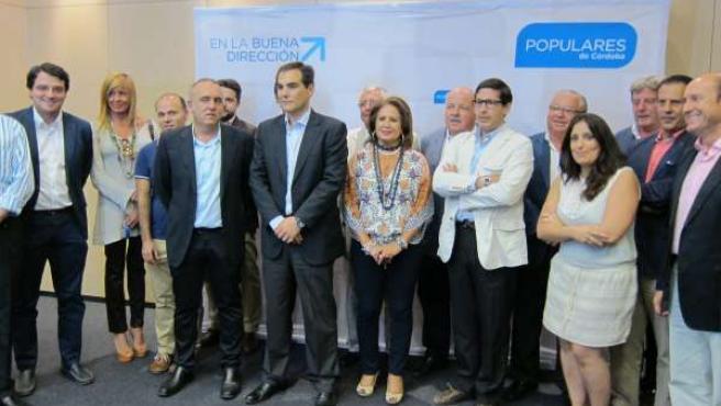 Asistentes al encuentro del PP con empresarios y autónomos sobre reforma fiscal
