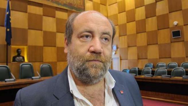 El portavoz de IU, José Manuel Alonso