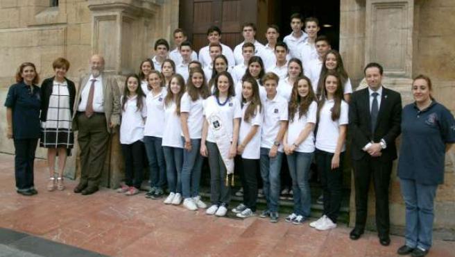 Participantes programa Asi es Asturias