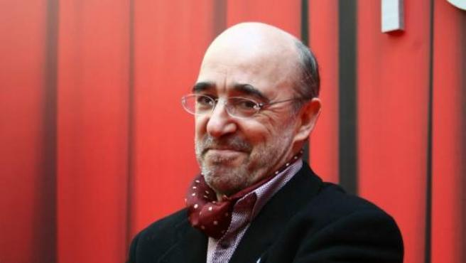 Álex angulo en los Premios Goya de 2011, cuando estuvo nominado a la mejor interpretación masculina de reparto por 'El Gran Vázquez'.