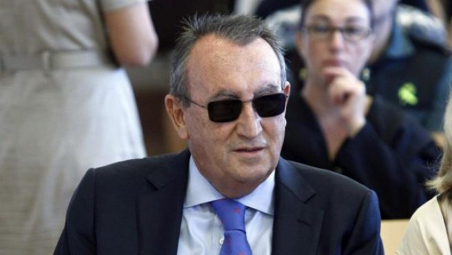 El expresidente de la Diputación y del PP en la provincia Carlos Fabra.