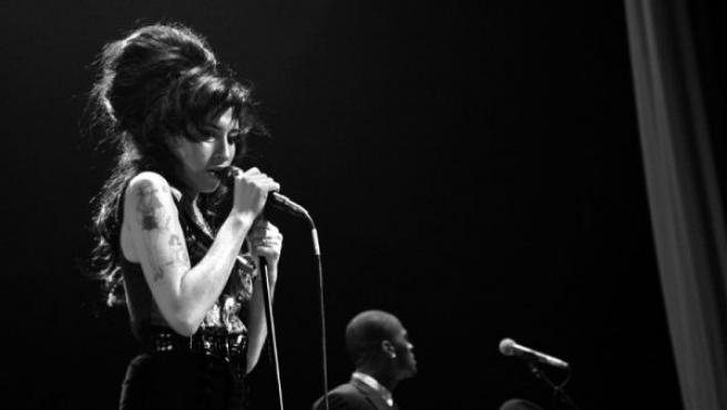 La cantante inglesa Amy Winehouse