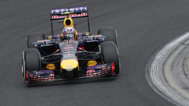 El piloto australiano Daniel Ricciardo, en el GP de Hungría de Fórmula 1.