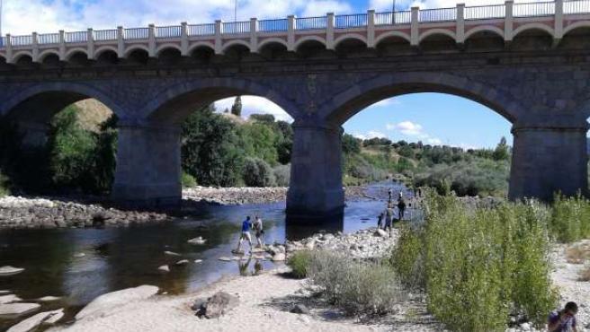 Lipieza Río Tormes