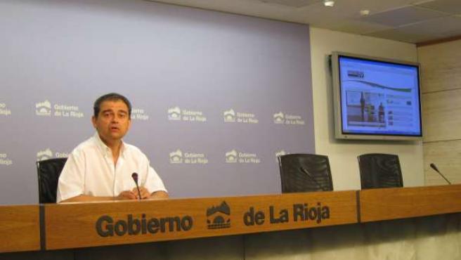 El director general de Innovación Julio Herreros informa de datos canal innovaci
