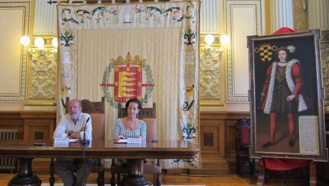 El alcalde de Valladolid y la concejal de Turismo presentan datos de viajeros