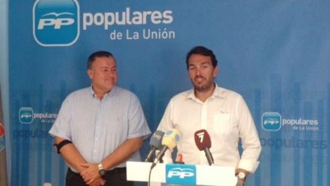 Bernabé y Ruano, en la rueda de prensa