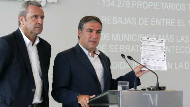 Presidente de la Diputación explicado la Bonificación del IBI