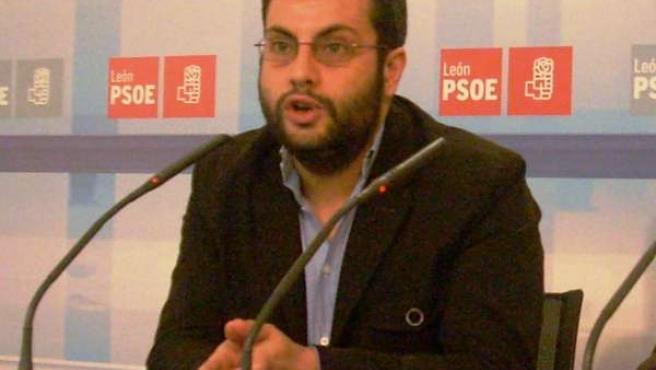 El secretario de Organización del PSL, Iban García del Blanco.