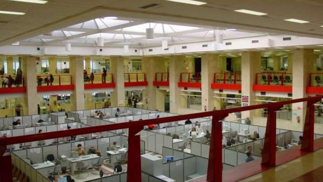 Oficina de la Agencia Tributaria en Madrid