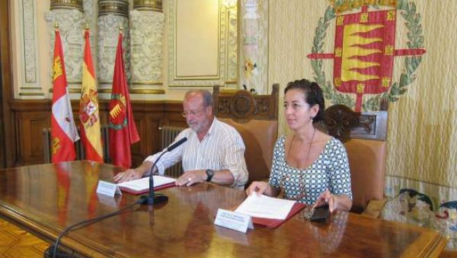 De la Riva y Cantalaprieda presentan los datos de viajeros en Valladolid