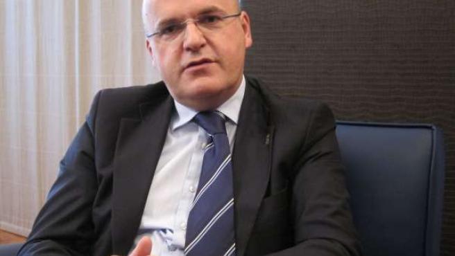 El presidente de la Diputación de Ourense, José Manuel Baltar (PP)