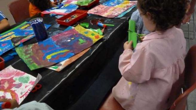 Talleres infantiles del Museo de Navarra.