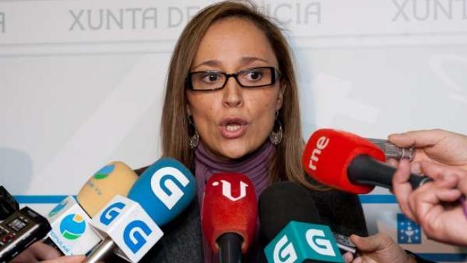 Elena Muñoz, Conselleira De Facenda
