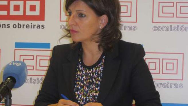 La coordinadora nacional de Esquerda Unida, Yolanda Díaz
