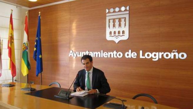 El portavoz del Ayuntamiento, Miguel Sáinz informa de la Junta de Gobierno