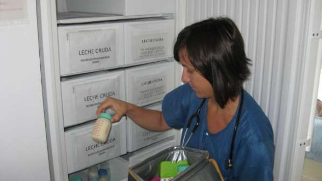 Donaciones de leche en el Hospital Infantil Materno de Málaga
