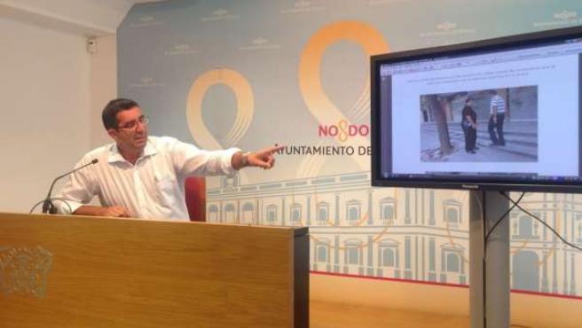 El concejal del PSOE en el Ayuntamiento de Sevilla, Miguel Bazaga