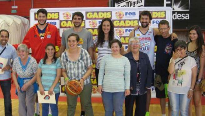 Ndp Encuentro Pai Menni Con Selección Española De Baloncesto