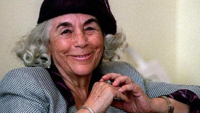 La escritora salamantina Carmen Martín Gaite.