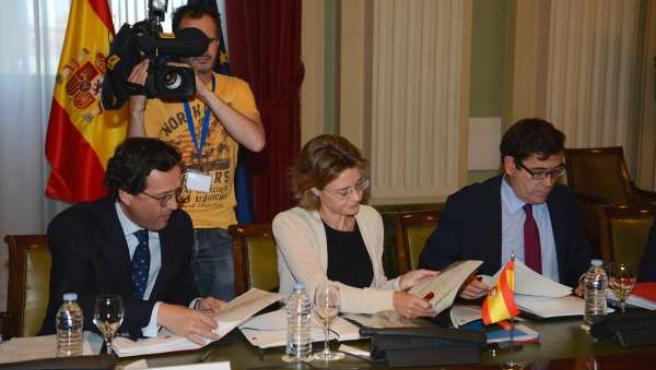 Isabel García Tejerina en la sectorial de Agricultura