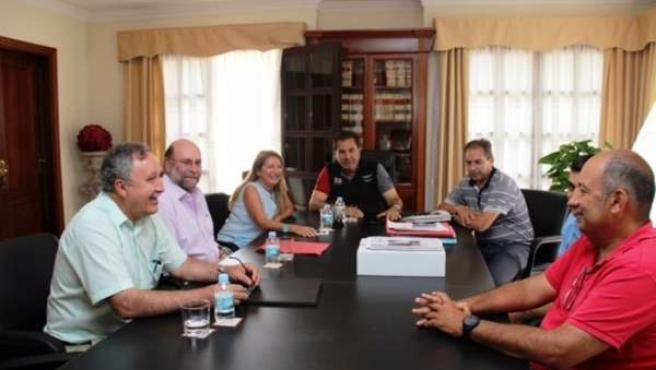 Reunión entre el Cabildo y el Ayuntamiento