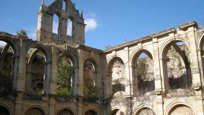 Imagen del Monasterio de Rioseco (Burgos)