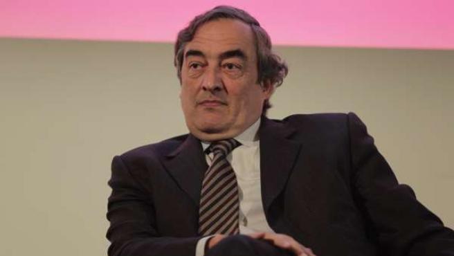 El presidente de la CEOE Juan Rosell