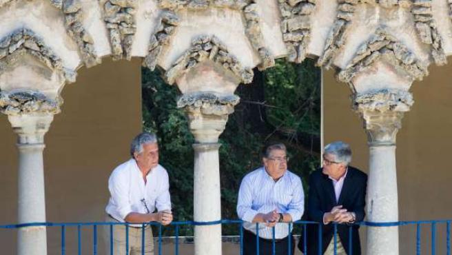 Zoido visita el Alcázar