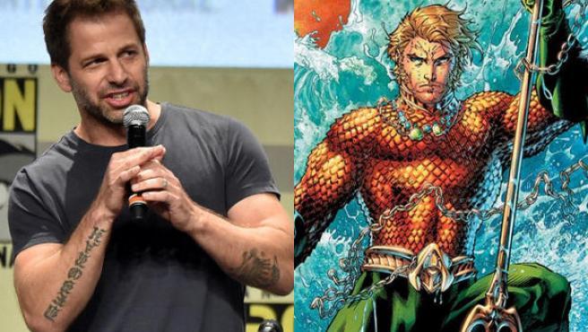 La llamada indiscreta de Zack Snyder: ¿Estará Aquaman en 'Batman v. Superman'?