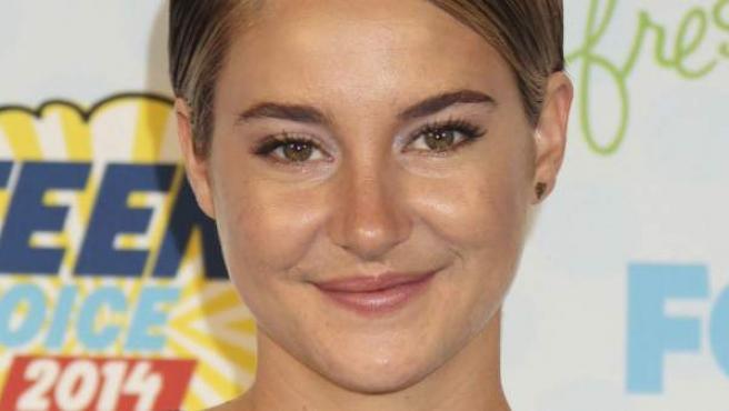 Shailene Woodley en los Teen Choice Awards.