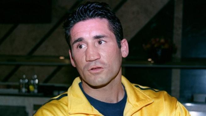 Fotografía de archivo tomada del exboxeador Poli Díaz.