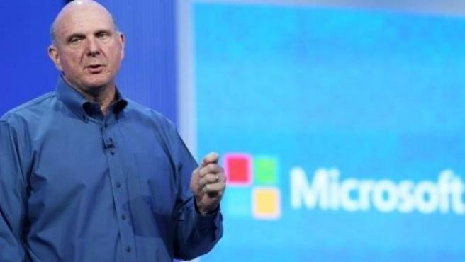 El CEO de Microsoft, Steve Ballmer.