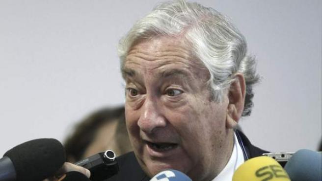 El consejero madrileño de Sanidad, Javier Rodríguez.