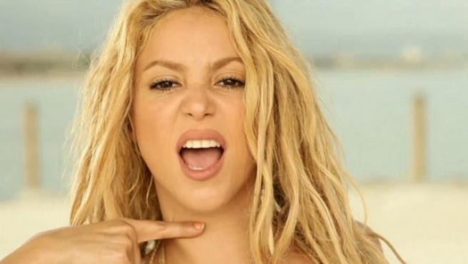 Skakira en una imagen del videoclip 'Loca'.