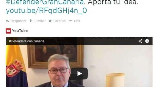 Twitter de José Miguel Bravo de Laguna