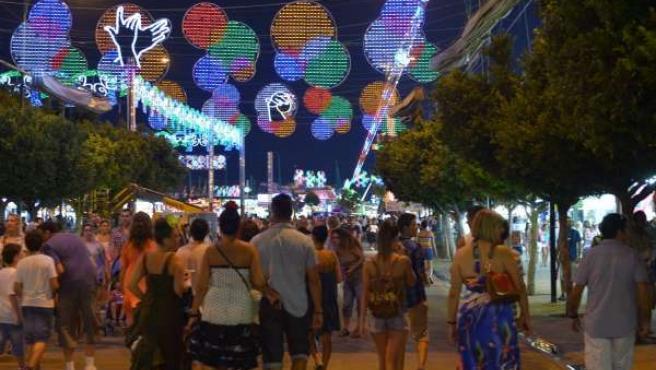 Feria de Málaga en el Real de Cortijo de Torres 2013