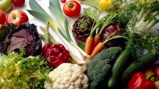 Frutas, hortalizas y verduras, la base de una dieta sana.