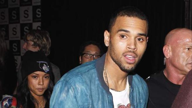 El cantante Chris Brown.
