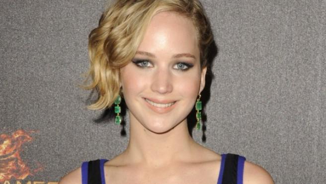 Jennifer Lawrence en el Festival de Cannes 2014.