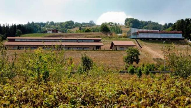 Vista general de las instalaciones del restaurante de Eneko Atxa.