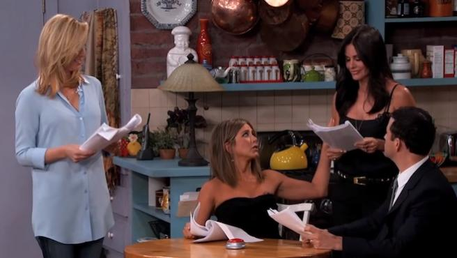Vídeo del día: La reunión de 'Friends' que arrasa en YouTube