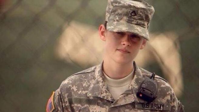 Kristen Stewart en la película 'Camp X-Ray'.