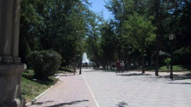 Imagen del parque de la Concordia, en Guadalajara.