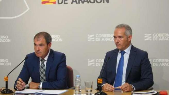 Marco A. Rando y Manuel Magdaleno