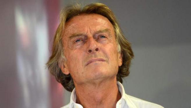El presidente de Ferrari, Luca di Montezemolo.