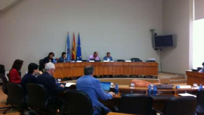 Comisión 7ª en el Parlamento de Galicia