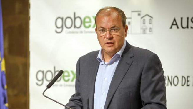 El presidente del gobierno de Extremadura José Antonio Monago.